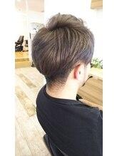ヘアサロンアート(hair salon a^-to)メンズハイトーンカラースタイル