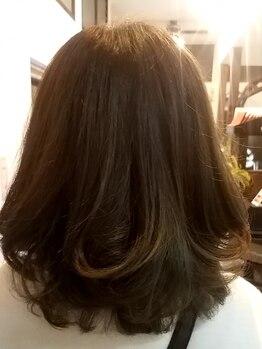 オッジヘアー(Oggi Hair)の写真/赤みが苦手な方にオススメ!アディクシーカラーで外国人風な透明感のあるアッシュに♪