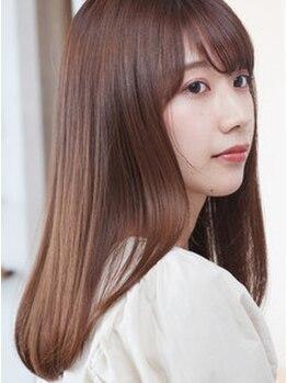 エアービジュー(Air Bijou)の写真/お悩みに合わせた施術と豊富な商材が◎芯から潤い、女性らしい魅力をより高めてくれるツヤ髪をあなたに―。