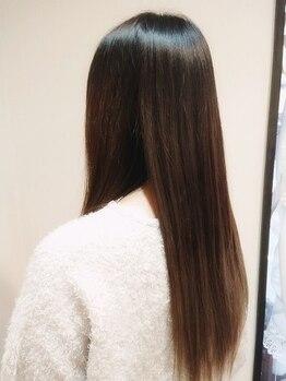 イングヘアー(ING HAIR)の写真/髪に優しい頭皮ケア◎髪質やダメージに合わせて使い分ける3種類のTOKIO、オゾン、生トリートメントが自慢!