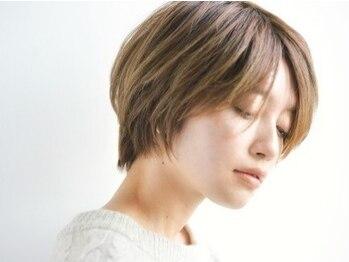 ノンダメージサロン ステラバイボヌール(Stella by Bonheur)の写真/【ボリューム&小顔補正】髪質や生えグセを考慮したカット技術!乾かすだけでまとまる髪に。再現性も◎!
