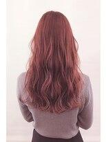 ヘアーアイスカルテット(HAIR ICI QUARTET)ピンク ベージュ ロング