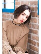 ルミナ オーガニックヘアー(LU3NA organic hair)ナチュラルな透明感あふれるシンプルなストレートボブ