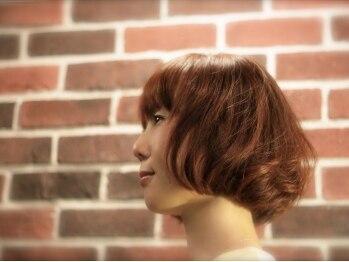 ジョブ ヘアー(JOV:HAIR)の写真/【西宮北口徒歩1分】髪をケアしながら,お洒落に白髪をカバー◎髪本来のツヤを取り戻し,表情まで輝かせる。
