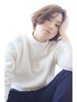 キートスバイガーランド (Kiitos by Garland)[Kiitos/吉祥寺]センターパート☆大人なニュアンスボブ