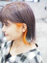 ♪Coni♪オレンジインナー×ダークバイオレット