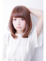 【LinobyU-REALM】ナチュラル可愛いレイヤーストレート