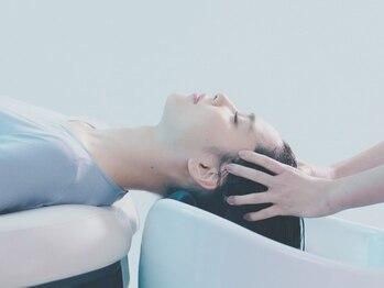 クレールボワス 引佐店(Clair,e bois)の写真/《エイジングスパ新登場!》頭皮診断付き◎本物志向の方に人気の【Aujua-オージュア】で健やかな地肌&美髪へ