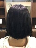 ヘアーメイク プリュム(Hair make Plume)アゴラインボブ