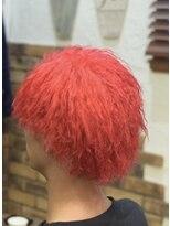 赤髪ツイスト