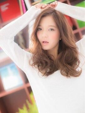 """カバーヘア ブリス 上尾店(COVER HAIR bliss)*+COVER HAIR+*…フリルみたいな♪…""""くびれカールロング""""a"""