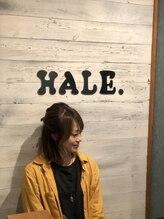 ヘアーサロンハレ(hair salon HALE.)由香