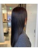 2か月間赤みが出にくいカラー☆美髪 Aube HAIR沖浜☆50代