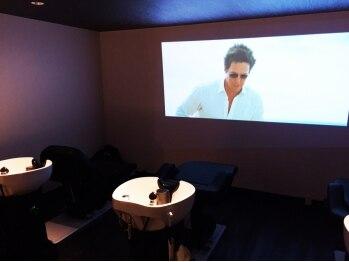 サイヘアーガーデン(SAI hair garden)の写真/【名駅3分】高級エッセンス使用した一流のスパ技術をシアタールームのような空間で体感・・・