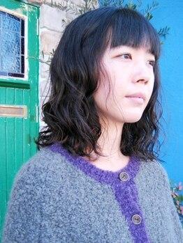ウミヘアー(umi.hair)の写真/好きなスタイルにしてあげたいからこそ髪を傷ませないumi.hairのカラ―!頭皮や髪にも優しいカラー剤使用♪