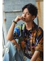 センターパート【メンズサロン/梅田/JR大阪/西梅田/北新地】