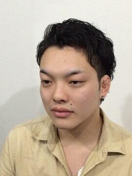 ハグ 仙北店(Hair&Make Hug)2ブロックショート×アップバング