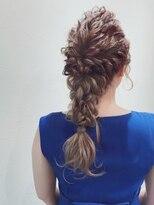 アリス ヘア デザイン(Alice Hair Design)Alice☆オトナシンプル×編みおろしダウンアレンジ