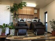 ヘアーブース ソラ(Hair Booth SORA)の雰囲気(植物に囲まれて癒されて下さいね☆)