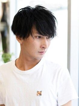 ヘアークリアー 川口鳩ケ谷の写真/男性にも大好評サロン☆男性目線でも女性目線から見てもかっこいい髪型を提案します!