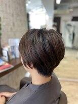 クロムヘアー(CHROME HAIR)ショートヘア