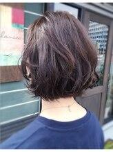 ヘアデザイン ベロニカ(hair design Belonica)重軽ボブ
