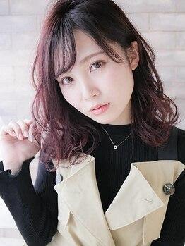 """シェルブルー(CiEL BLEU)の写真/髪はもちろん頭皮にも優しいオーガニックカラー使用!!あなたの""""なりたい""""イメージを叶えます☆"""