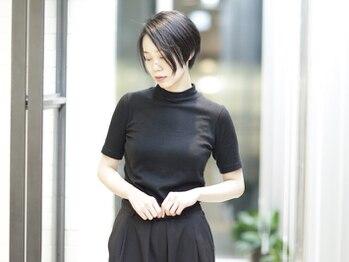 ヴィー 青山/表参道(VIE)の写真/[ショート・カットが得意!]25歳~の大人女性の為のサロン。最高の『似合わせカット』で毎日が素敵に