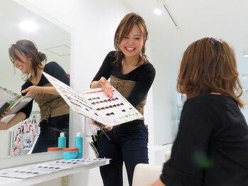 ヘアメイク マキア(HAIR MAKE MAQUIA)の写真/清潔感溢れるリラックス空間で充実した髪質改善MENU。圧倒的なコスパに大人女性の満足感も◎