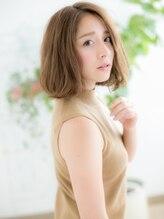 ヘアサロンダンボ(hair salon DUMBO)+dumbo与野+ くせ毛風ナチュラルボブa-2