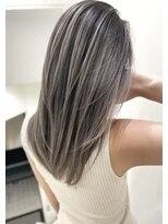 トルネード(TORNADO)美髪外国人風ハイライトバレイヤージュエアタッチ グレージュT72
