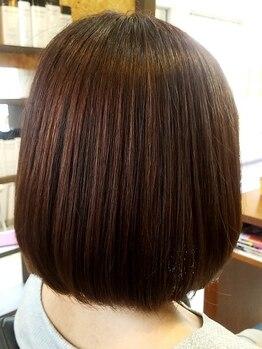 オッジヘアー(Oggi Hair)の写真/圧倒的な満足感!オーガニックの力で「髪本来の美しさ」を引き出してくれる。大人女性の本格サロン♪