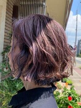 ヘアーアート ジュース テヅカヤマ(Hair art Juice TEZUKAYAMA)の写真/【帝塚山/姫松】《美容メーカー》と《Juice研究チーム》がタッグを組み、最新のトレンドを世の中に発信☆