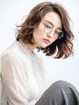 ヘアーアンドファッションシオミエイチ (hair&fashion shiomi H)の写真/《実力派stylist揃い!》今までパーマがあたりにくかった方必見!!簡単スタイリングで毎日違う自分になれる♪