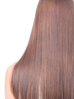 ヘアーアンドビューティ クアトロ 赤塚店 水戸(HAIR&BEAUTY QUATRO)の写真/QUATROリピートNO.1メニュー!選べる3タイプの「大人艶髪ストレート」であなたの悩みを解決!自慢の髪に♪