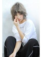 ブラン 難波(Blanc)【Blanc】外国人風エアリーショートボブ