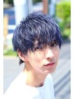ザ サードヘアー 津田沼(THE 3rd HAIR)コバルトウルフマッシュ