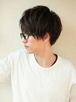アフロート ディル(AFLOAT D'L)AFLOAT《矢田菜津紀》メンズビジネスメガネが似合う髪型