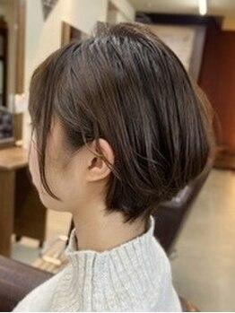 アリーム(Areem)の写真/似合わせカットが大好評◎1人1人の生え癖・髪質を汲み取り、再現しやすく小顔に見えるStyleを提案します!