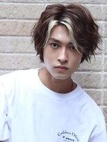 コンフィデンス メンズヘアー(confidence MEN'S HAIR)ミディアムラフウェーブ confidence -MEN'S HAIR-