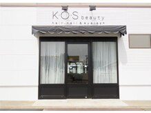 ケーオーエスビューティー(K O S beauty)の雰囲気(白をベースにした外観に、オシャレな内装です♪)