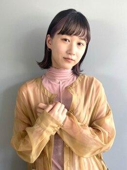 ハルフウェイ(haLfway)の写真/《松本・野溝》Aujua取扱いサロン!丁寧なカウンセリングで、髪の状態に合わせた最適なヘアケアをご提案◎