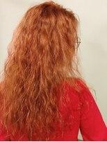 ベティ(Bettie)外人の赤毛風オレンジカラー