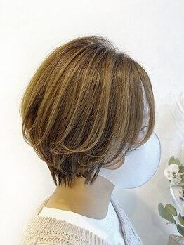 イソラヘアアトリエ(Isola hair atelier)の写真/〇骨格に合わせた似合わせCut 〇どこから見ても美しいハイセンスなシルエット〇今迄に無い満足感