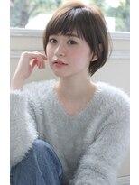 ジョエミバイアンアミ(joemi by Un ami)【joemi】トップのペタンがお悩みの方にオススメショート