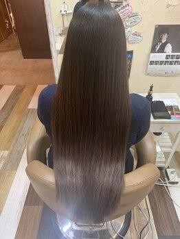高円寺四百倍美容室の写真/ずっと触っていたい髪質が続く…*1人1人の髪のお悩みに、ワンランク上の本気の髪質改善で向き合います!