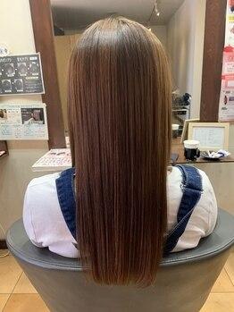 ヘアメイク グラント(HAIR MAKE GRANT)の写真/美髪作りのプロが作るプレミアムTR。ダメージや繰り返しのカラーリングでパサつく髪も柔らかく扱いやすく♪
