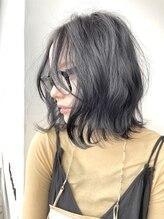 ナチュラル ヘアーデザイニング(Natural hair designing)鎖骨ミディアムくびれ/ミントアッシュ/ボブショート/髪質改善