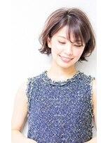 ≪ショート/ボブ/前髪あり/宝塚≫外ハネショートボブスタイル