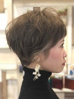 バルマ ヘア デザイン(Balma hair design)の写真/《再現性×トレンド》カットが自慢の実力派サロン!毎日のセットが簡単で他とかぶらない褒められStyleに♪